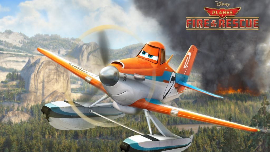 Planes: Fire & Rescue 4K UHD Wallpaper