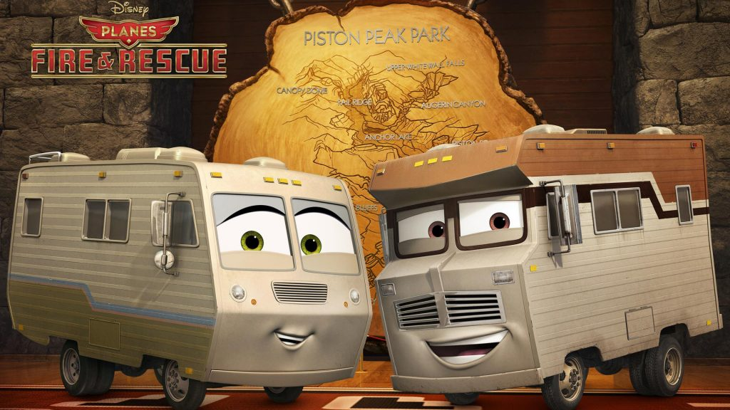 Planes: Fire & Rescue Full HD Wallpaper