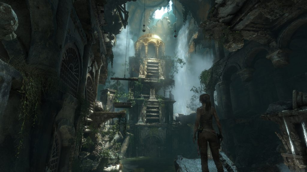 Rise Of The Tomb Raider 4K UHD Background