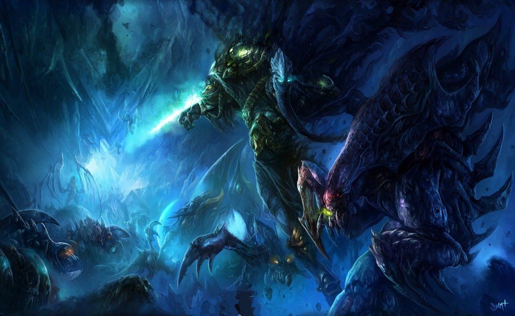Starcraft II Background