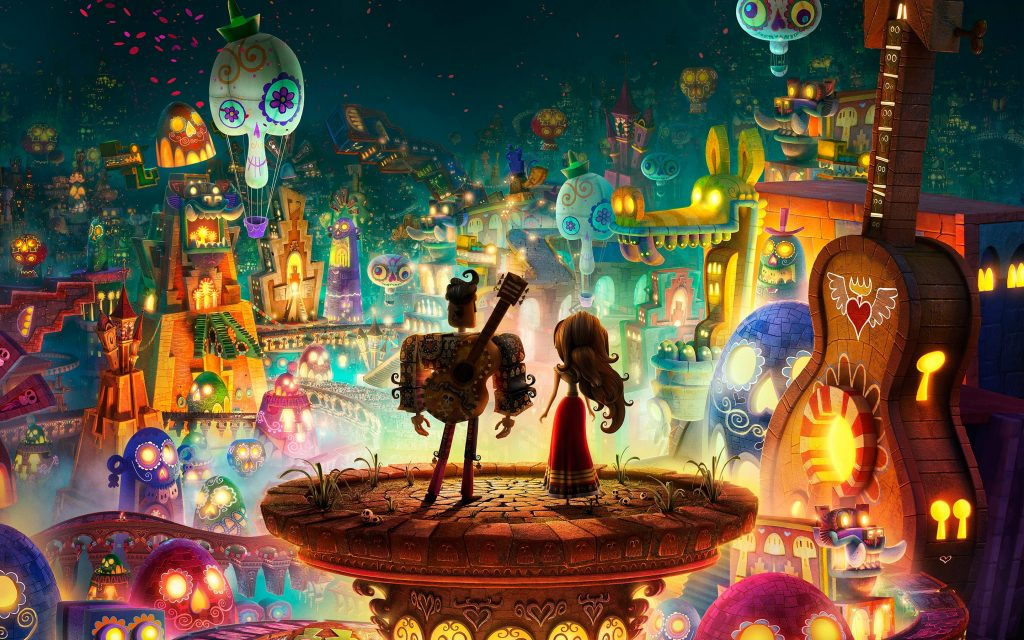 The Book Of Life Widescreen Wallpaper