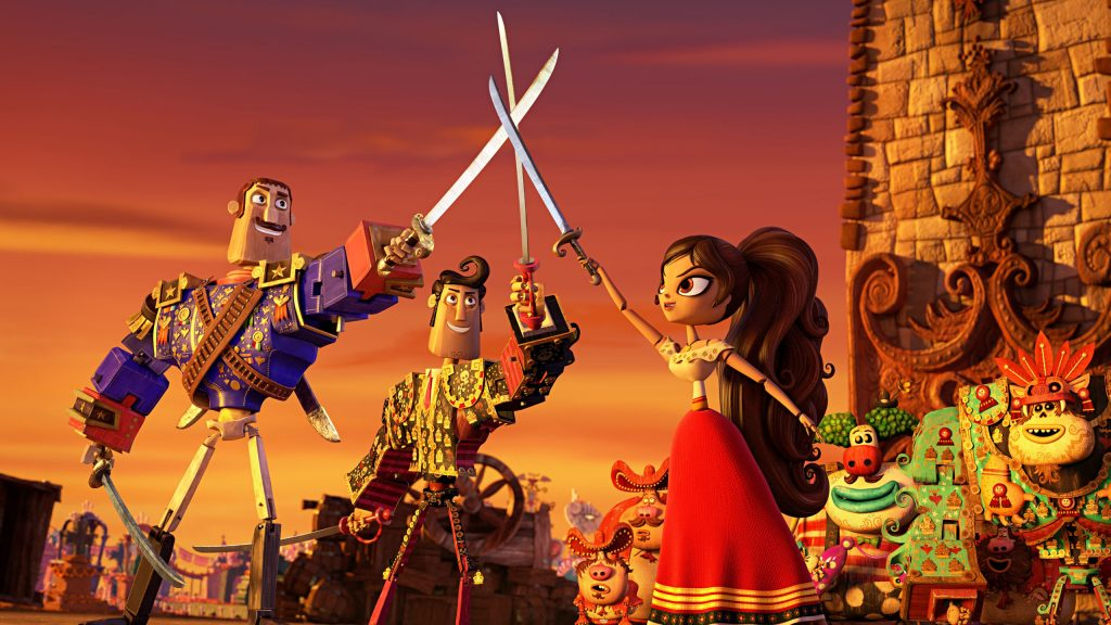 The Book Of Life Quad HD Wallpaper