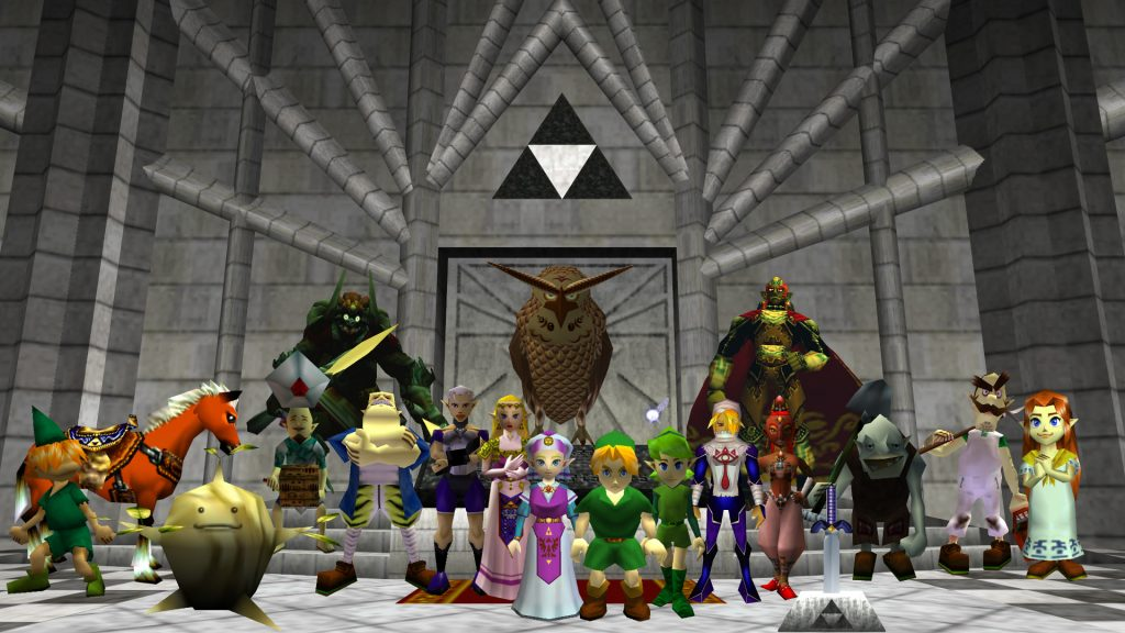 The Legend Of Zelda: Ocarina Of Time Full HD Wallpaper