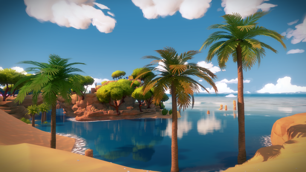 The Witness Full HD Wallpaper