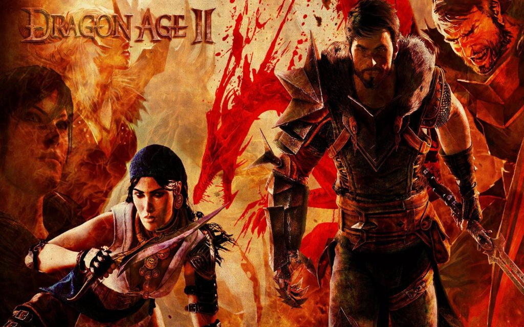 Dragon Age II Widescreen Wallpaper