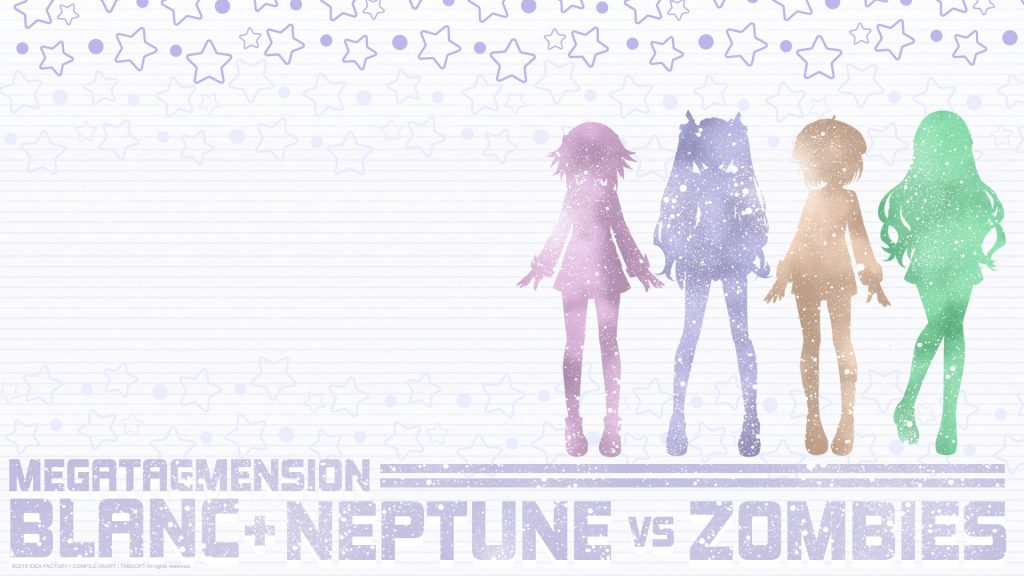 Hyperdimension Neptunia Full HD Wallpaper