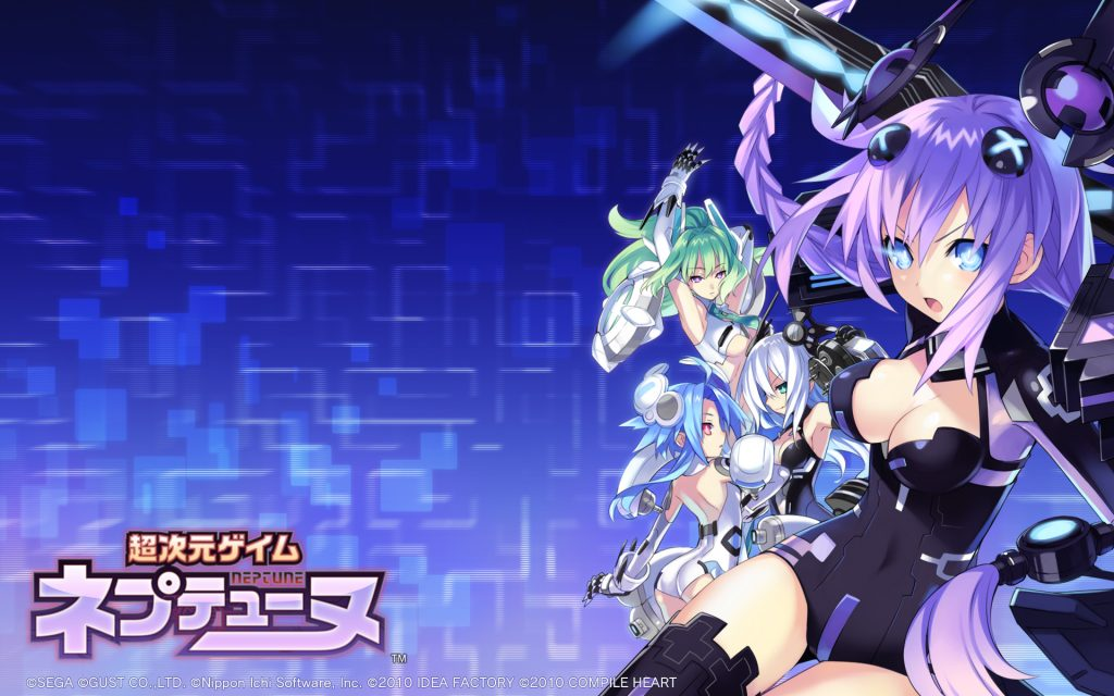 Hyperdimension Neptunia Widescreen Wallpaper
