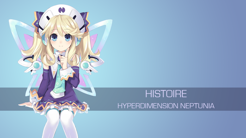 Hyperdimension Neptunia 4K UHD Wallpaper