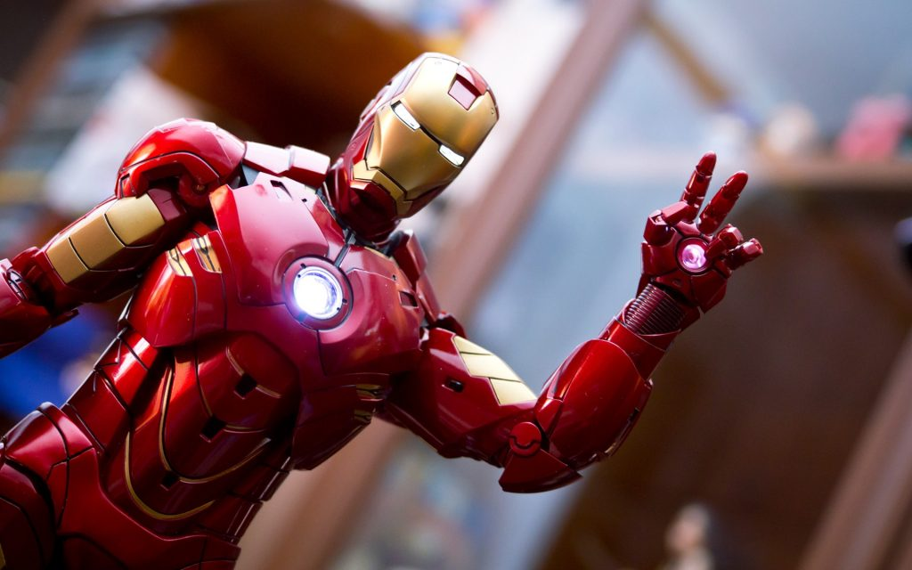 Iron Man Widescreen Background