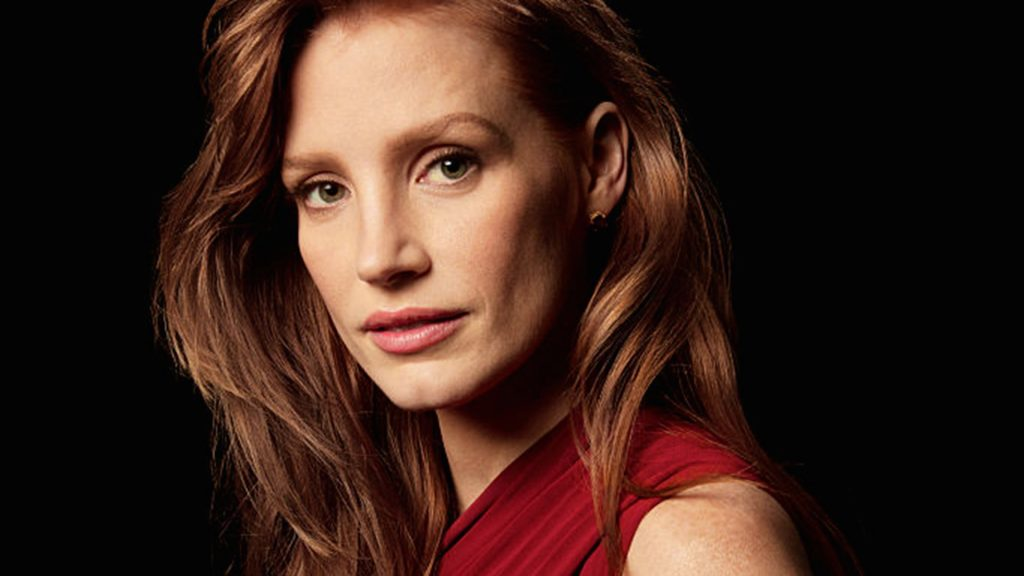 Jessica Chastain Full HD Background