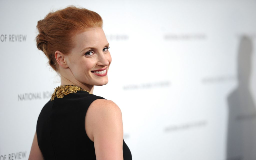 Jessica Chastain Widescreen Background