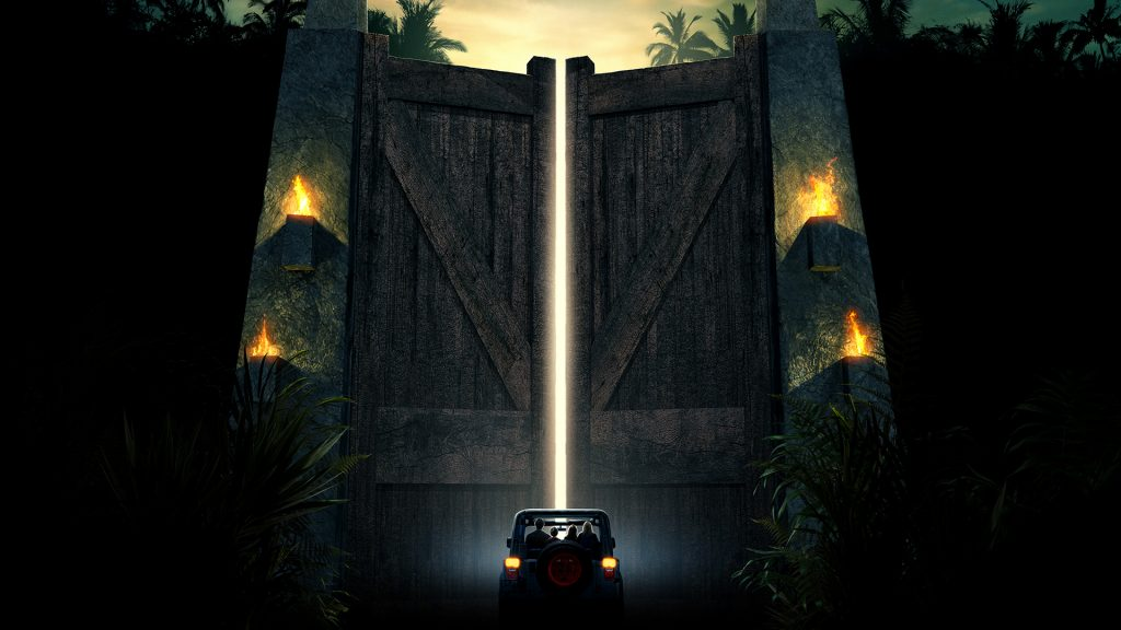Jurassic Park Full HD Background