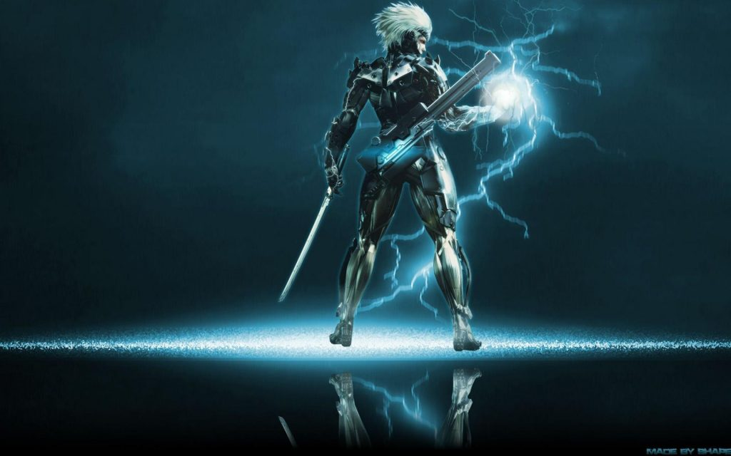 Metal Gear Rising: Revengeance Widescreen Wallpaper