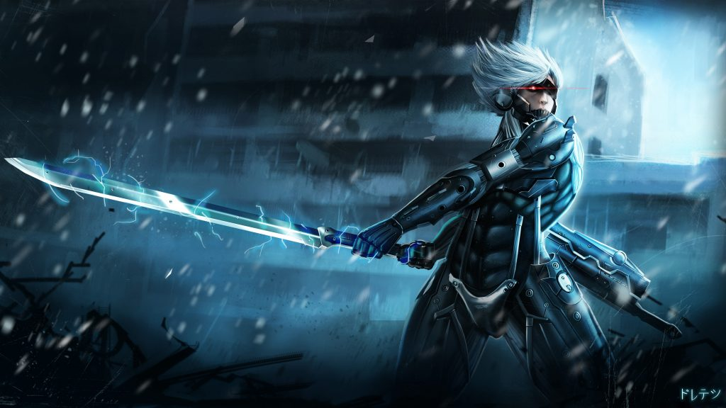 Metal Gear Rising: Revengeance 4K UHD Wallpaper