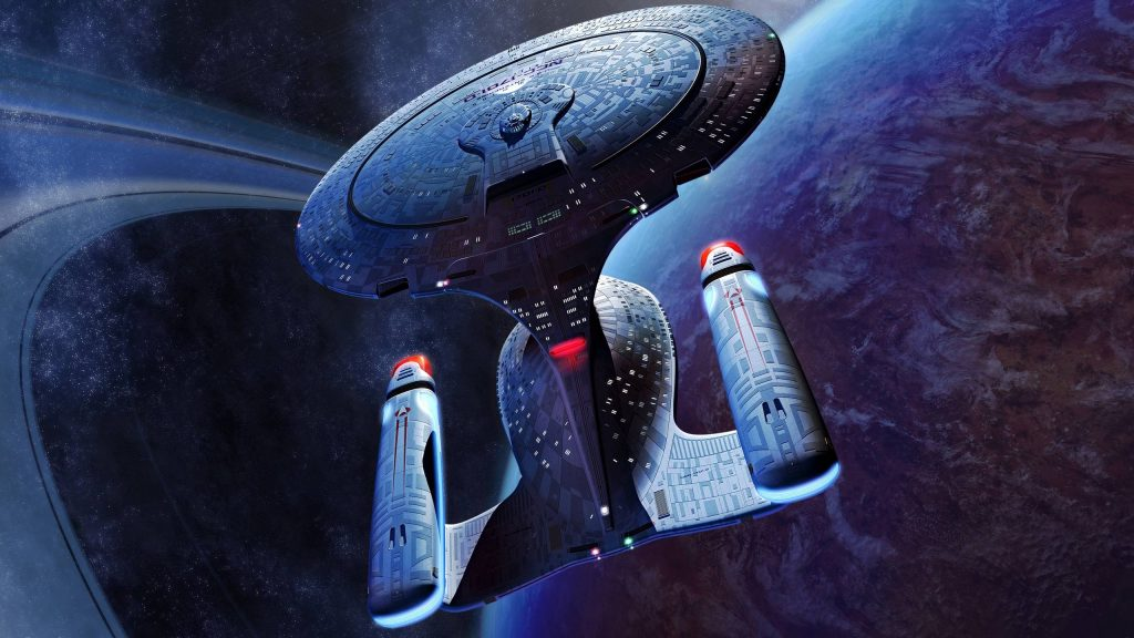 Star Trek: The Next Generation Quad HD Background