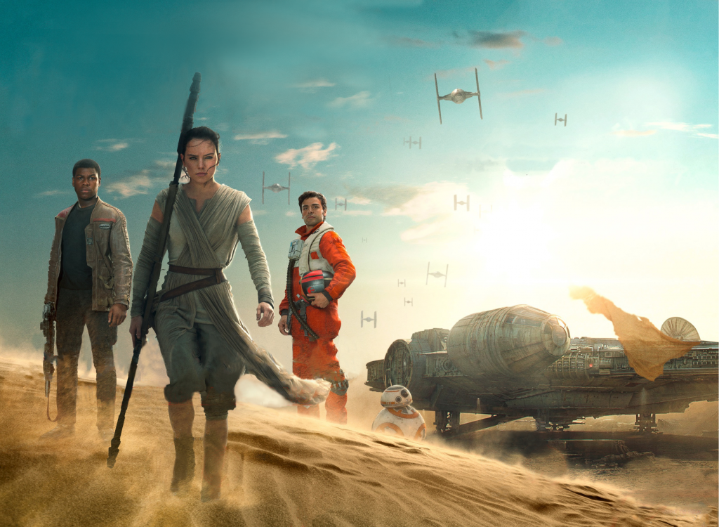 Star Wars Episode VII: The Force Awakens HD Wallpaper