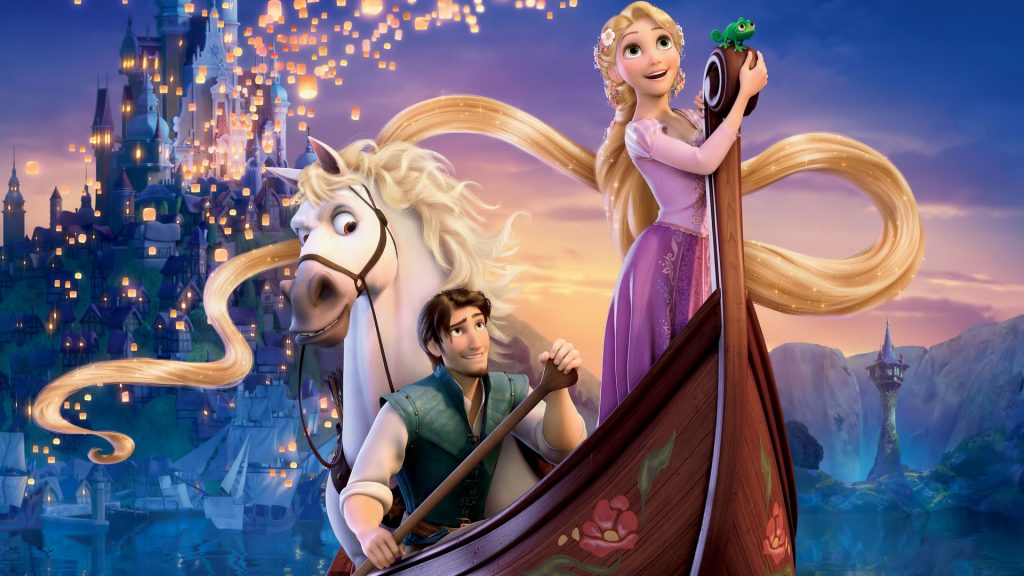 Tangled Full HD Background
