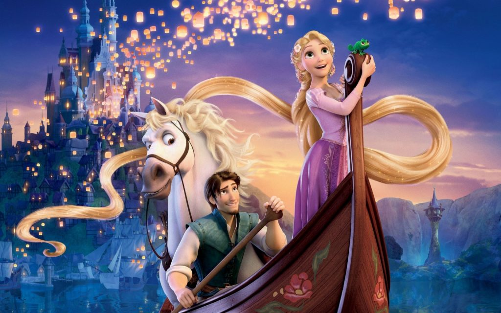 Tangled Widescreen Background