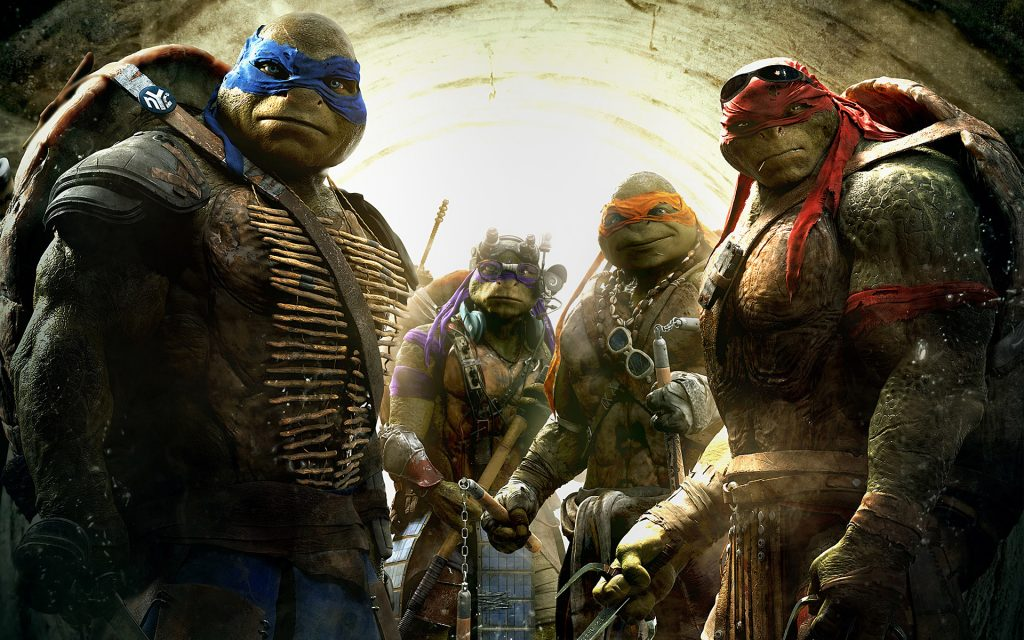 Teenage Mutant Ninja Turtles (2014) Widescreen Wallpaper