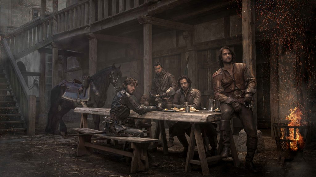 The Musketeers Full HD Wallpaper