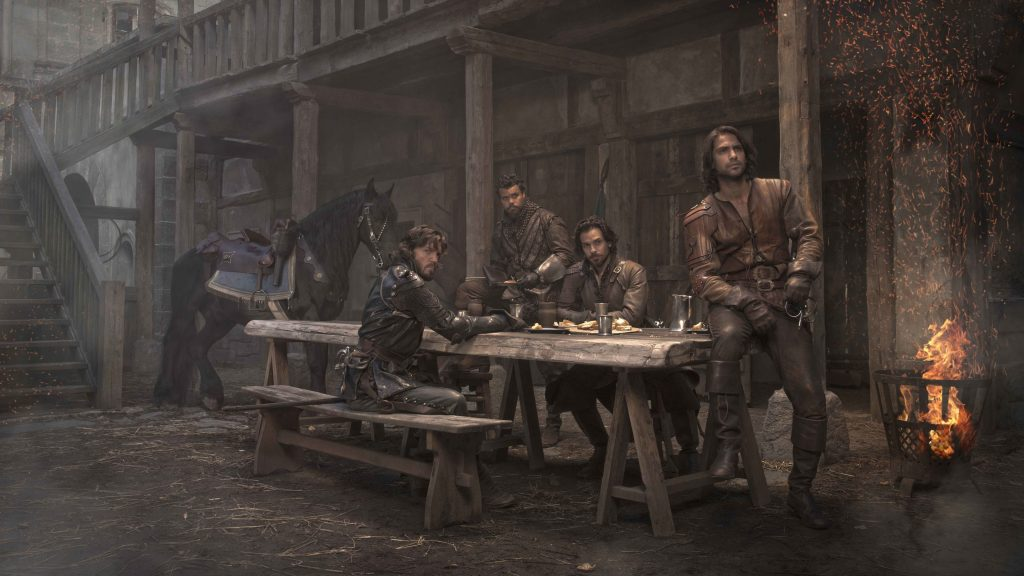 The Musketeers 4K UHD Wallpaper