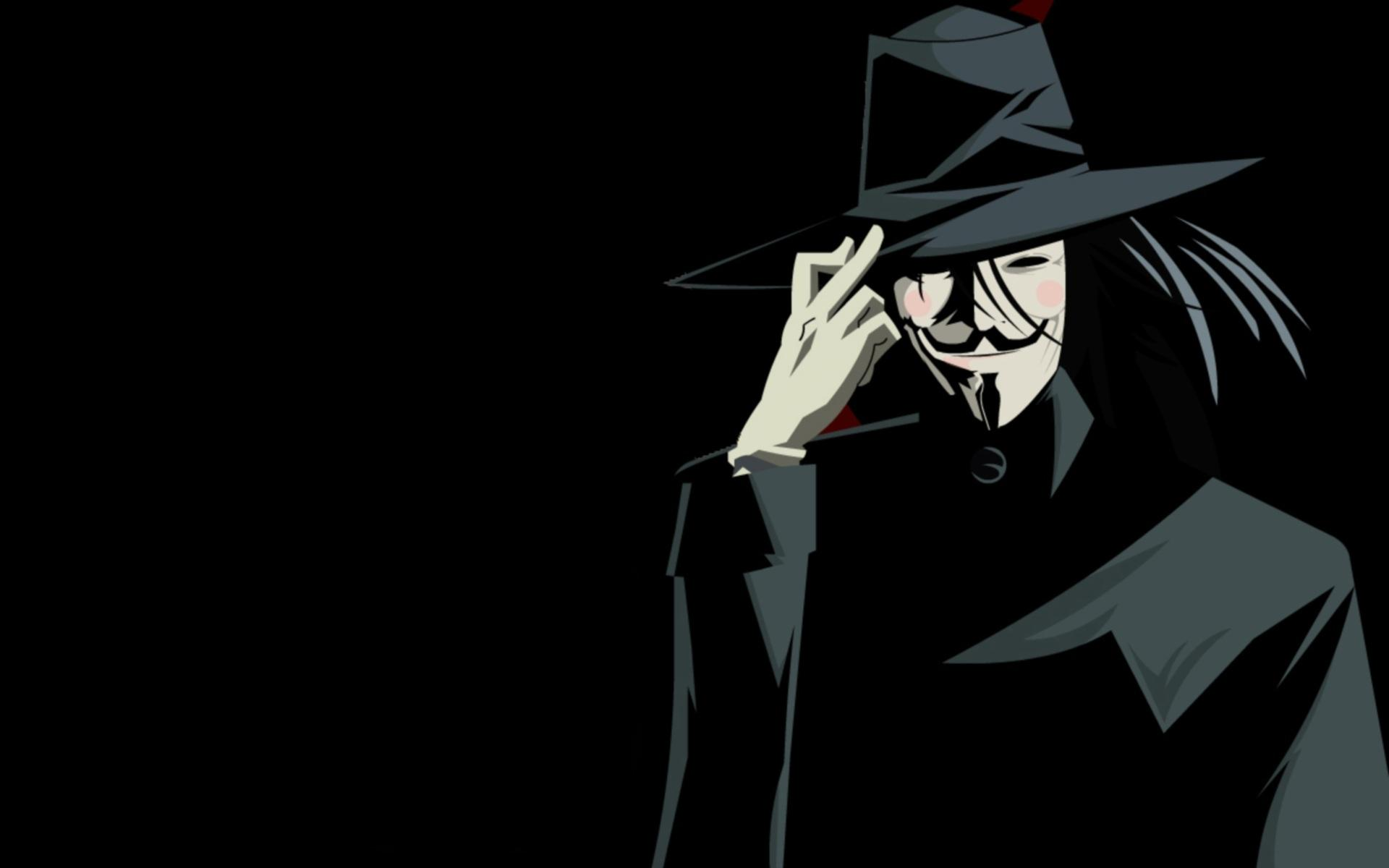 V For Vendetta Widescreen Wallpaper
