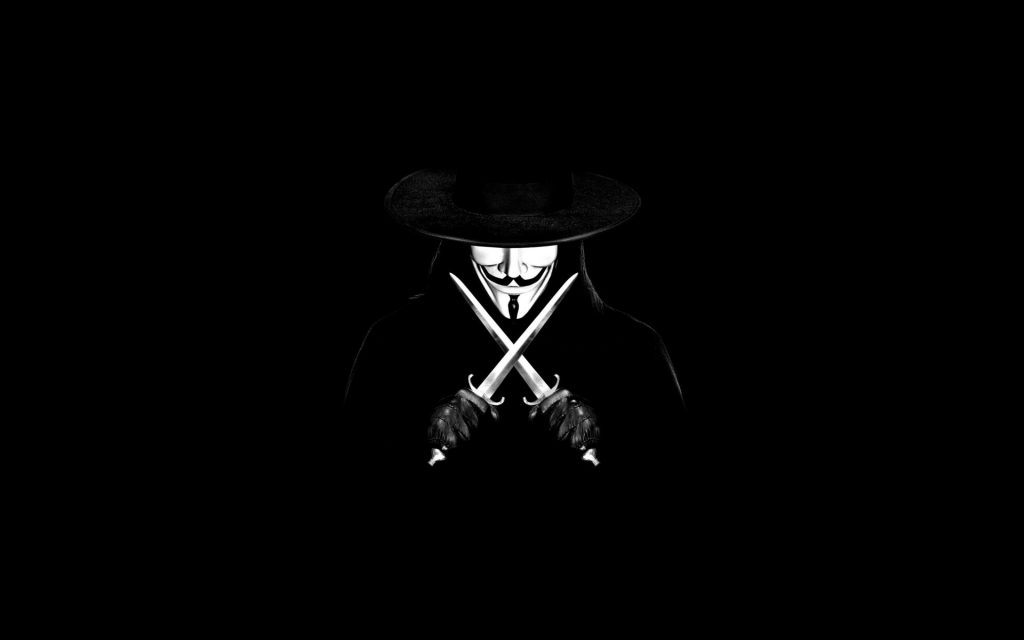 V For Vendetta Widescreen Background