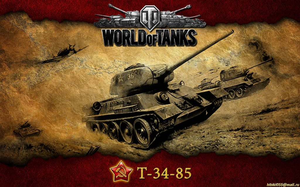 World Of Tanks 4K Ultra HD Background