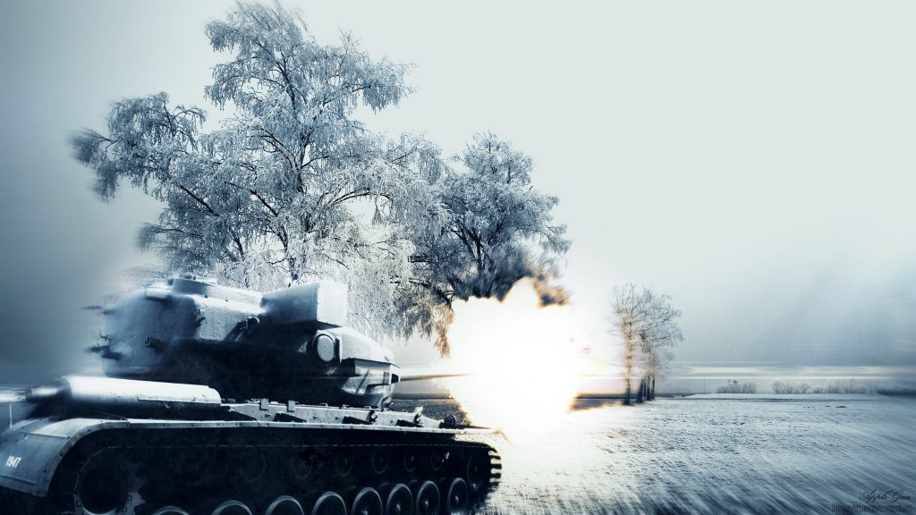 World Of Tanks 4K UHD Background