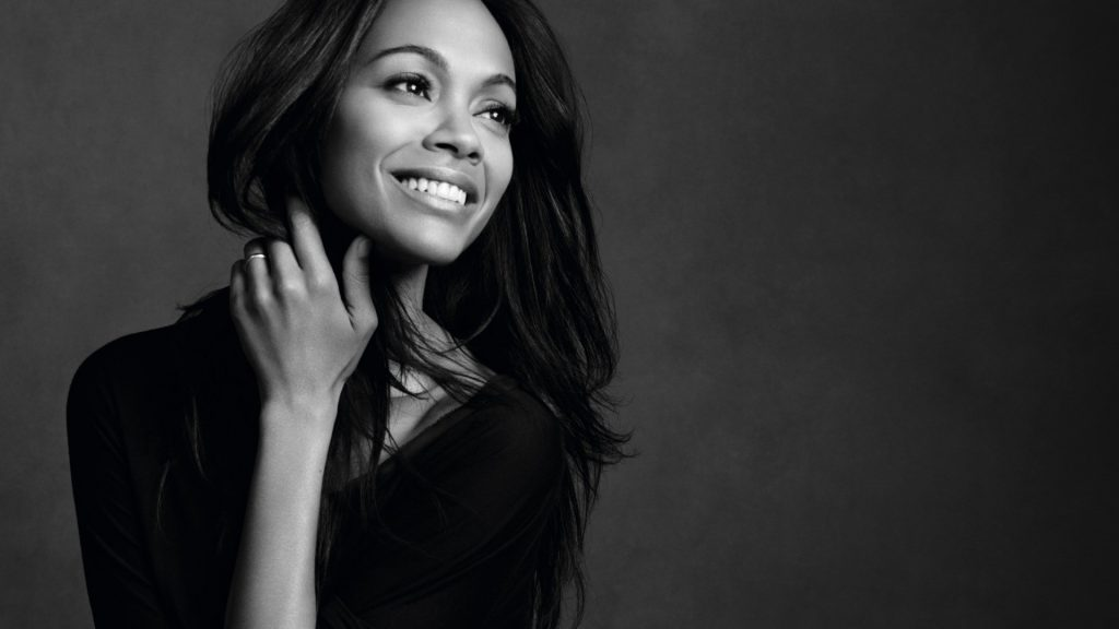 Zoe Saldana Full HD Wallpaper