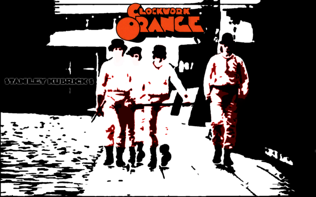 A Clockwork Orange Widescreen Wallpaper