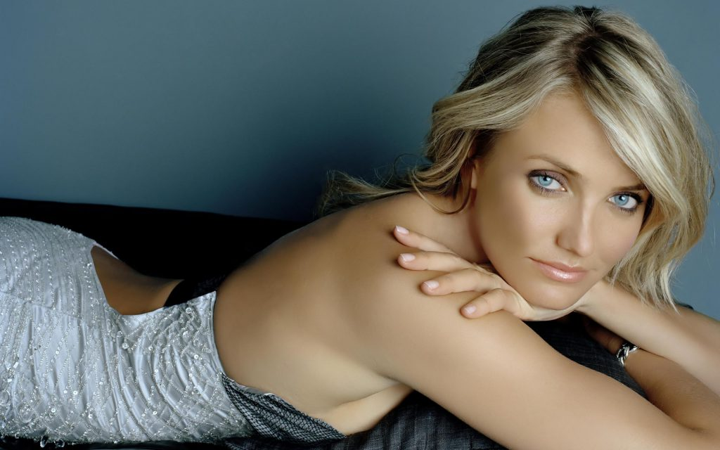 Cameron Diaz Widescreen Background