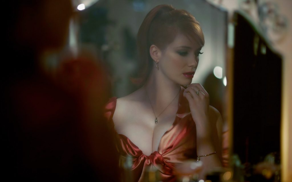 Christina Hendricks Widescreen Background