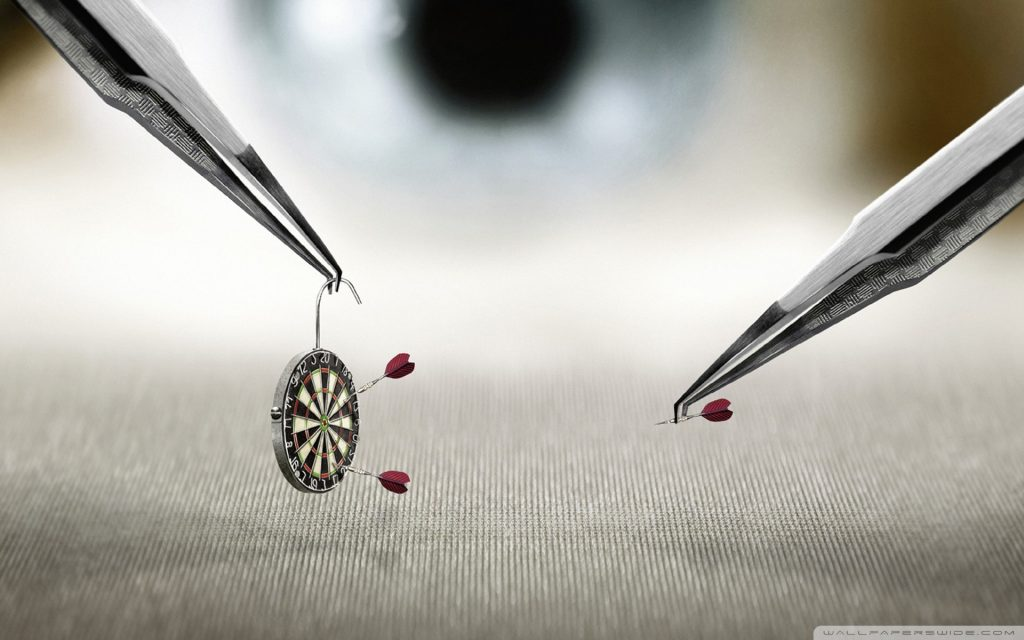 Darts Widescreen Wallpaper