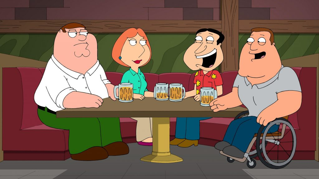 Family Guy HD Background