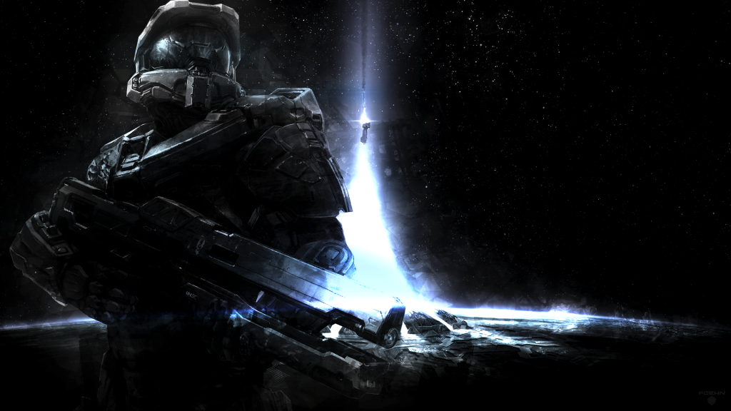 Halo 4 Full HD Background