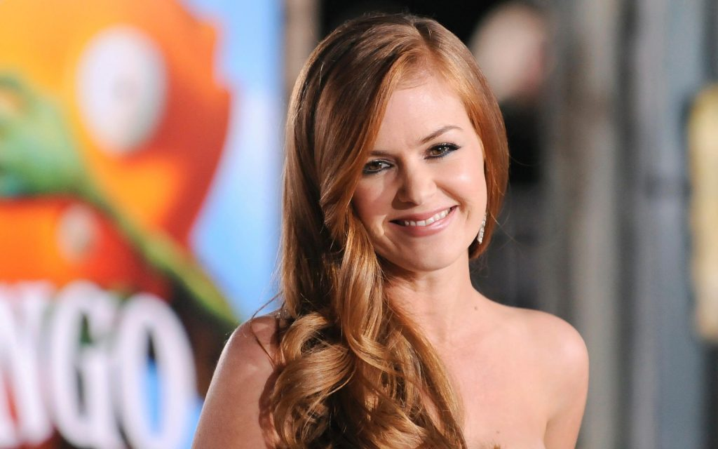 Isla Fisher Widescreen Background