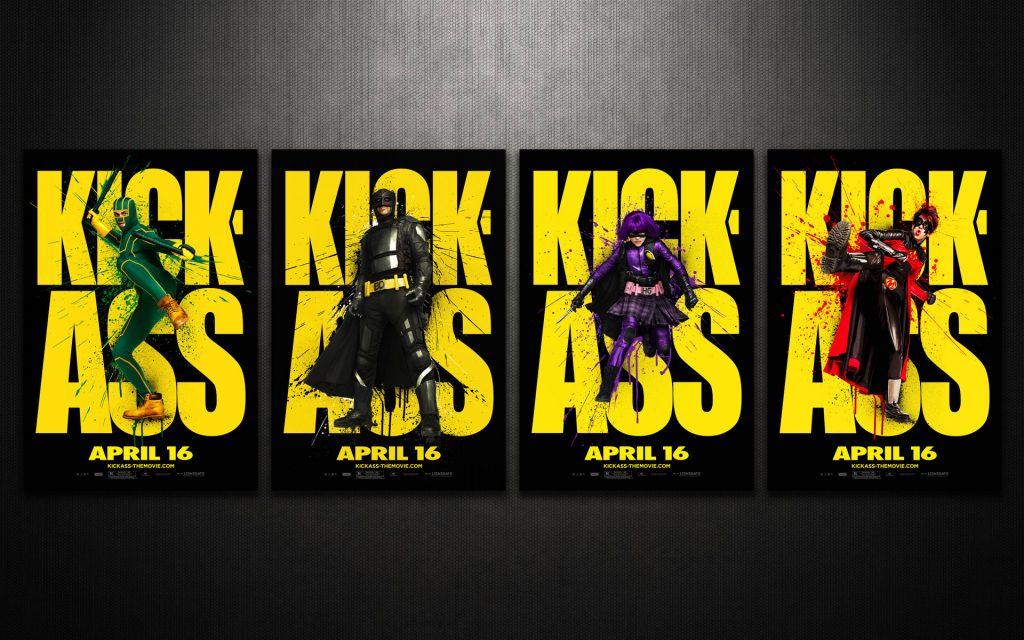 Kick-Ass Widescreen Wallpaper