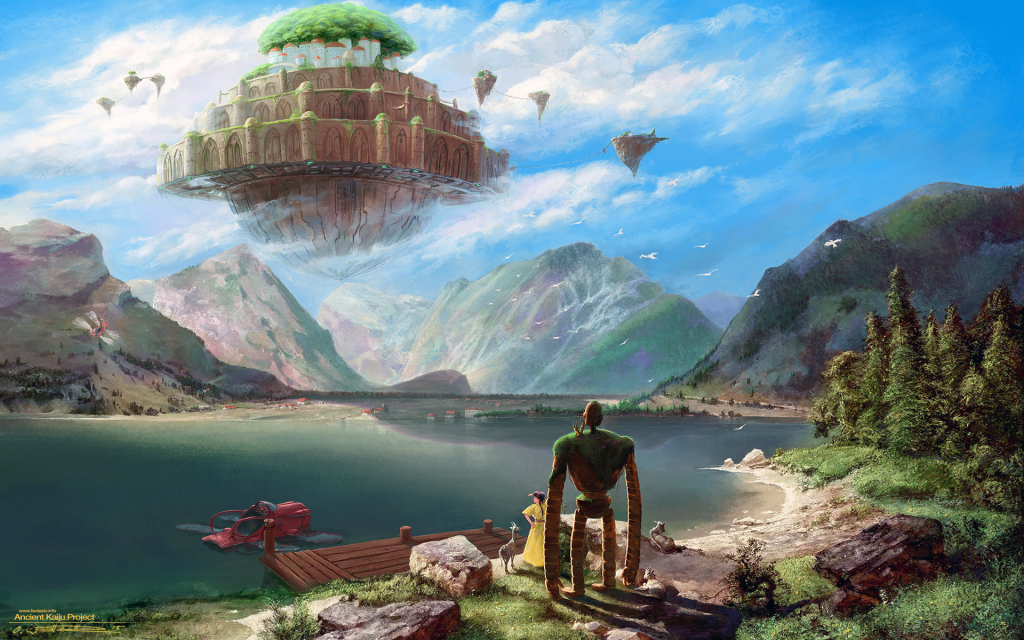 Laputa: Castle In The Sky Widescreen Wallpaper
