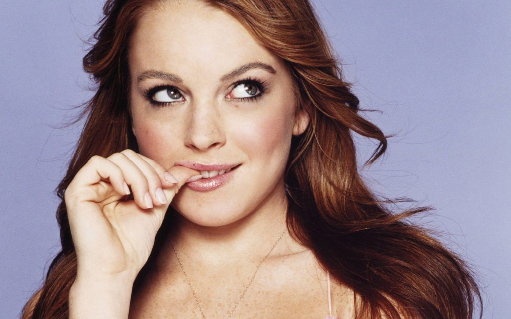 Lindsay Lohan HD Widescreen Wallpaper