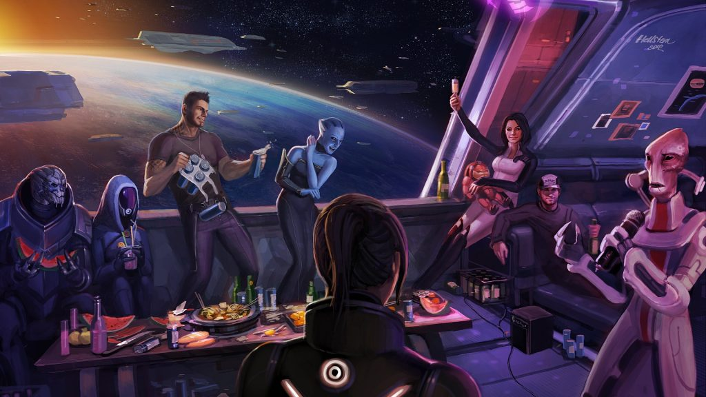Mass Effect 3 Full HD Wallpaper
