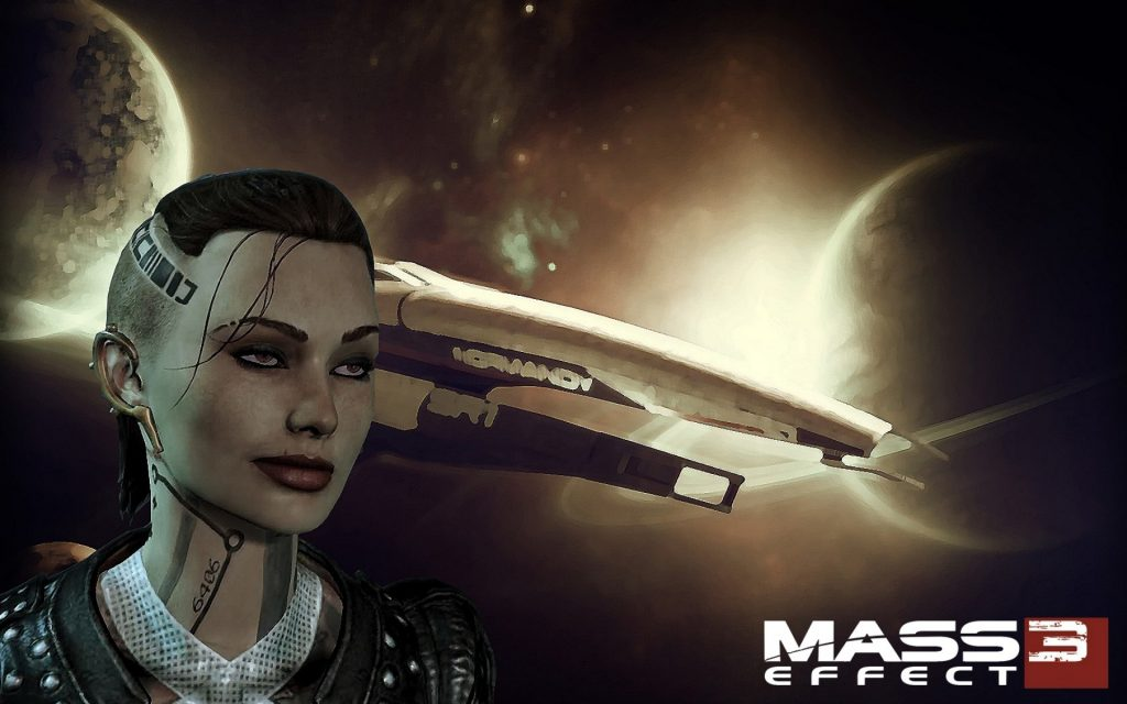 Mass Effect 3 Widescreen Wallpaper