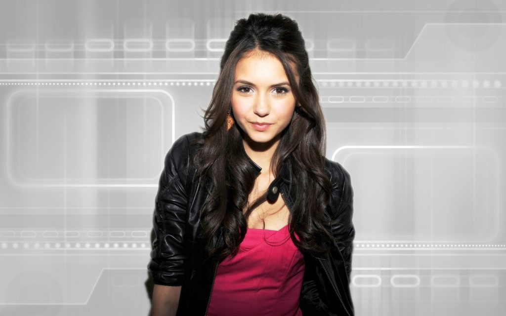 Nina Dobrev HD Widescreen Background