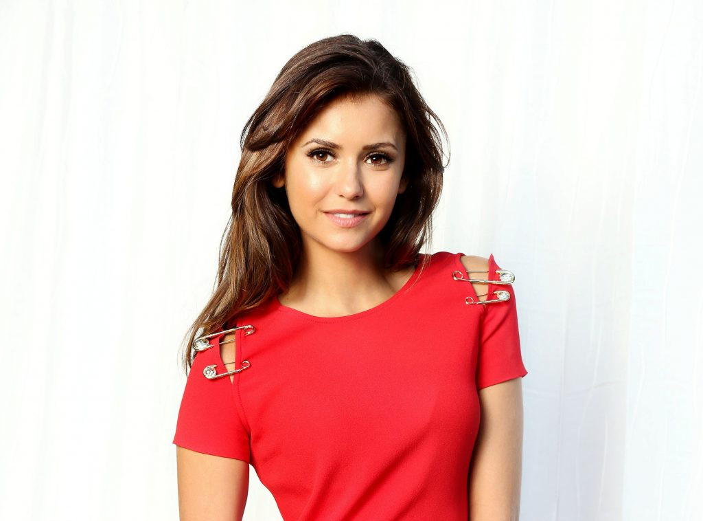 Nina Dobrev HD Background