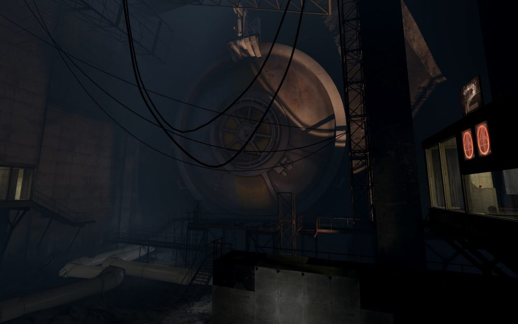 Portal 2 Widescreen Background