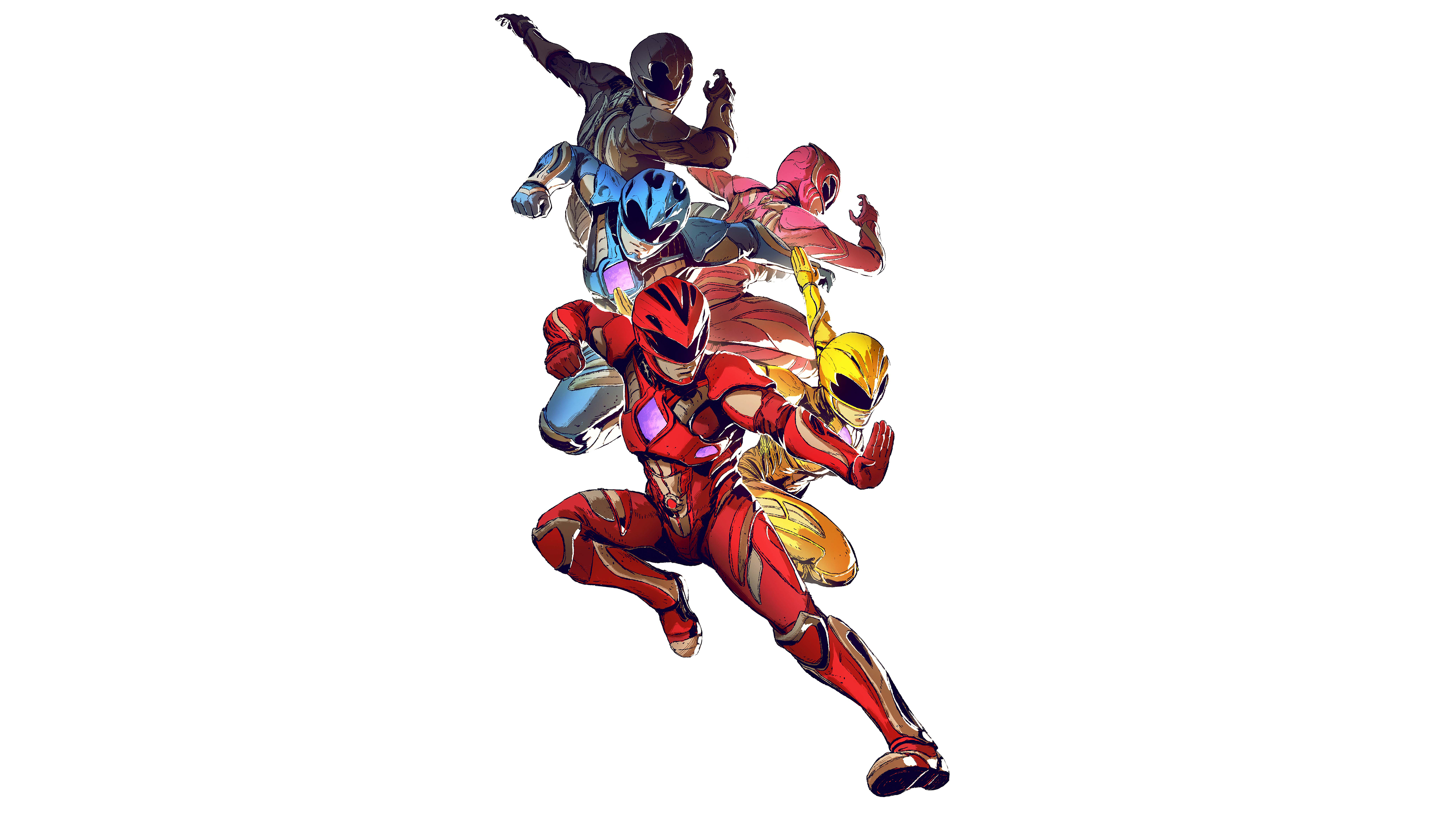Power Rangers (2017) Wallpapers, Pictures, Images