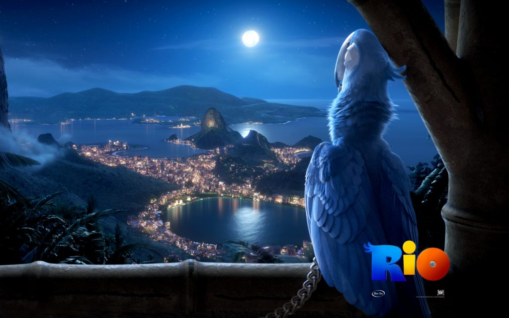Rio Widescreen Wallpaper