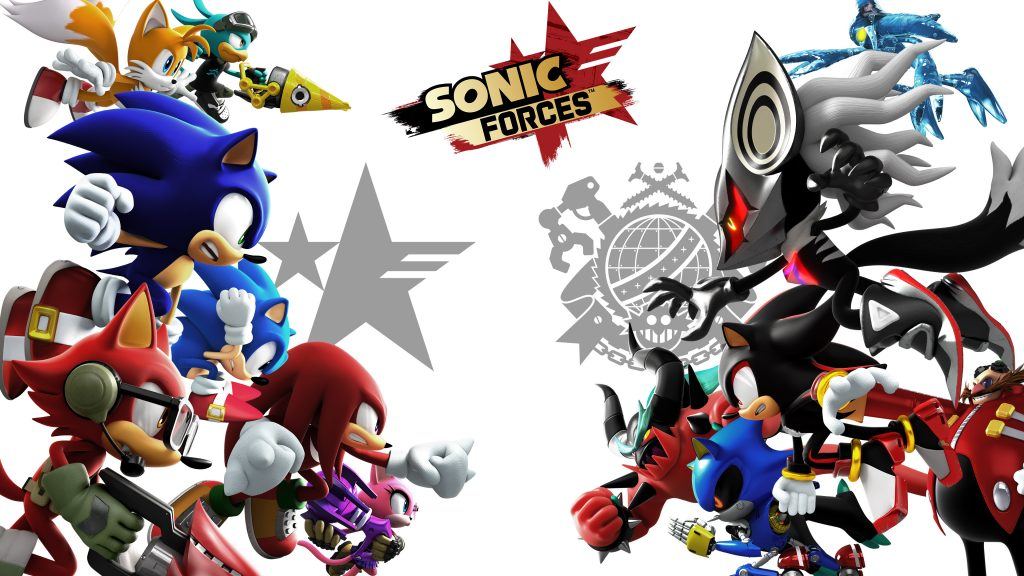 Sonic Forces 4K UHD Wallpaper