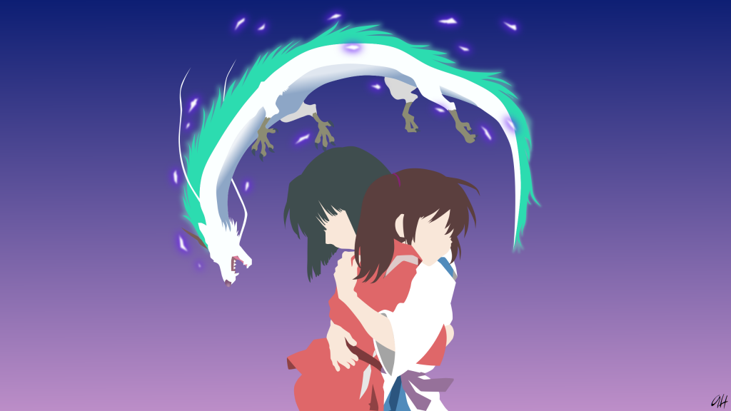 Spirited Away Quad HD Background