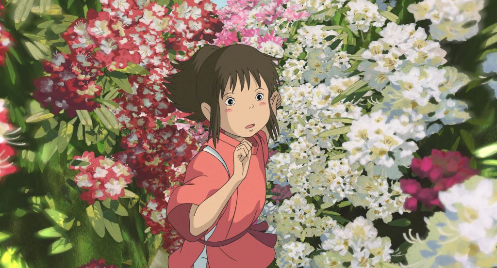 Spirited Away Background